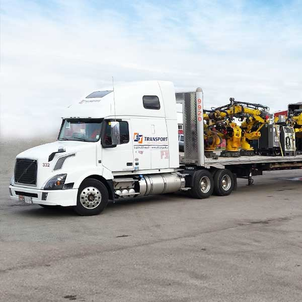Special Considerations For Transporting Heavy Equipment & Large Machinery