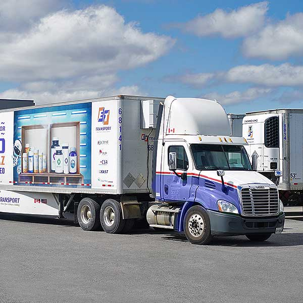 Temperature Controlled Trucks